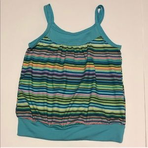 4/$25 Active By Old Navy Multi Color Strip…